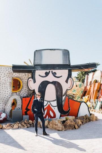 Hip and Colorful Las Vegas Neon Museum Wedding – Kristen Kay Photography 21