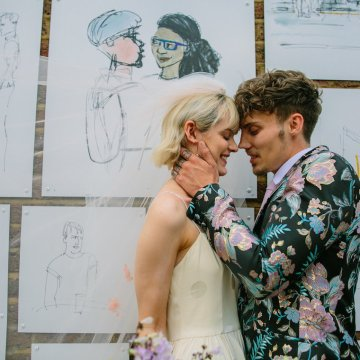 London Rock and Roll Elopement Inspiration – Storyett Photography 25