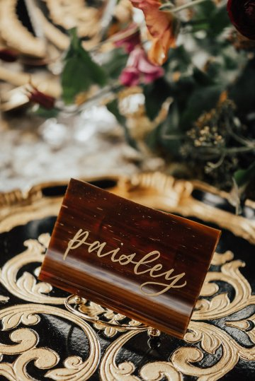 Luxe Mansion Wedding Inspiration Featuring Masculine Florals and Deep Tones – Alex Tenser – Swoon Soiree 19