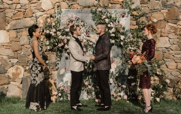 Masculine Wedding Ideas That Will Inspire You (Featuring Sequin Menswear!)
