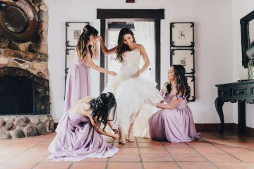 Rustic and Luxurious Southern California Wedding With Stunning Florals – Full Spectrum Photography 57