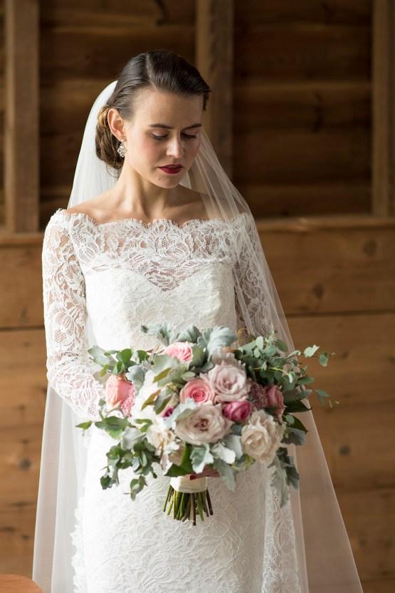 Rustic and Romantic Barn Wedding Inspiration – Boswick Photography 37
