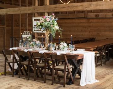 Rustic and Romantic Barn Wedding Inspiration – Boswick Photography 7