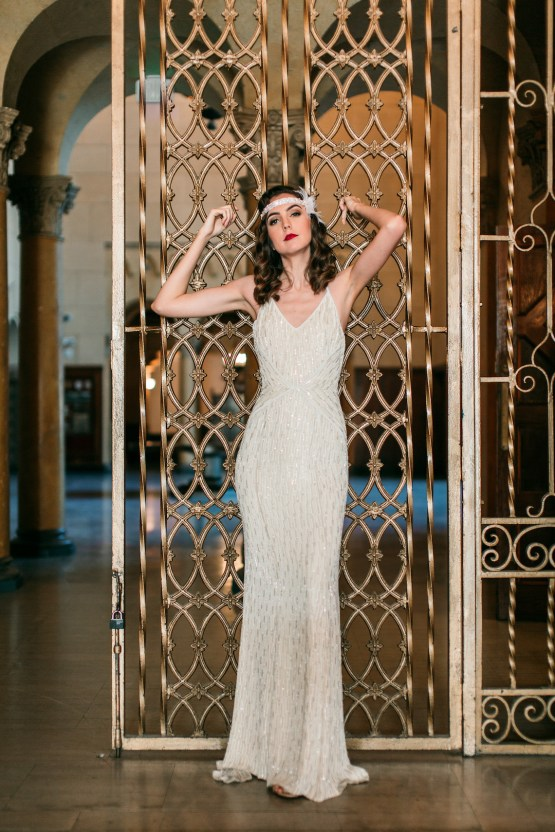 The Great Gatsby Art Deco Wedding Inspiration With Tropical Florals – Holly Castillo Photography 38