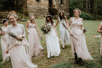 Woodland Waterfall Fairy-Tale Wedding – T and K Photography 13