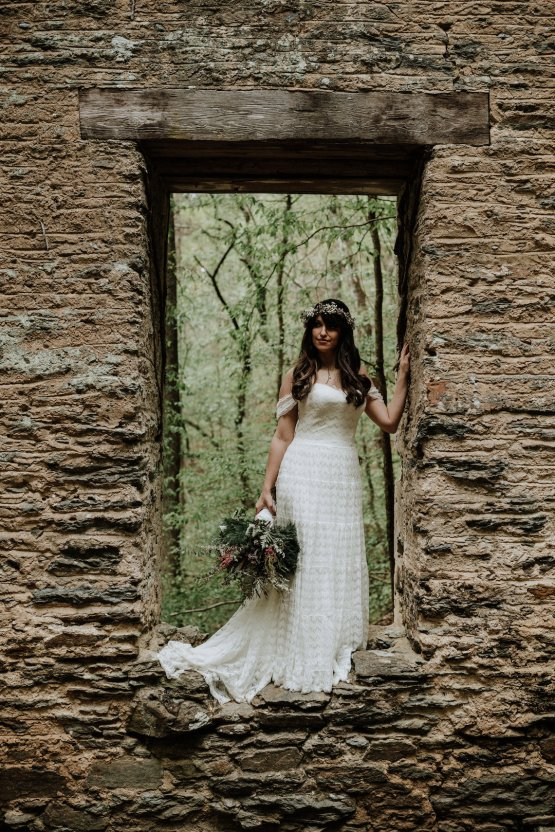 Woodland Waterfall Fairy-Tale Wedding – T and K Photography 35