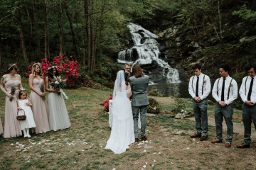 Woodland Waterfall Fairy-Tale Wedding – T and K Photography 7