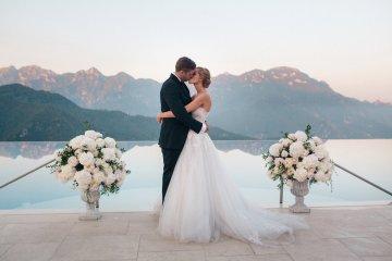 Breathtaking Cliffside Amalfi Coast Destination Wedding – Sandra Aberg 7