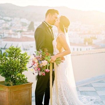 Lavish and Ethereal Greek Hotel Wedding Inspiration – Camilla Cosme Photography 22