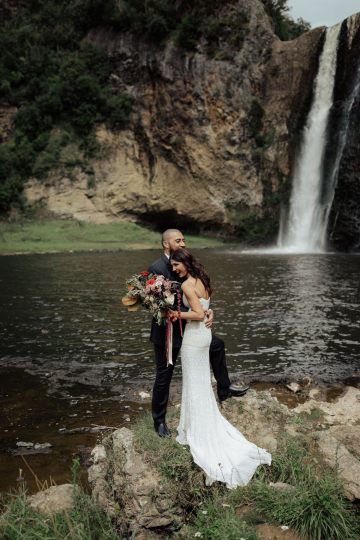Multicultural Indian Sikh Kiwi Waterfall Wedding – Karen Willis Holmes – Hollow and Co 23