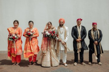 Multicultural Indian Sikh Kiwi Waterfall Wedding – Karen Willis Holmes – Hollow and Co 41