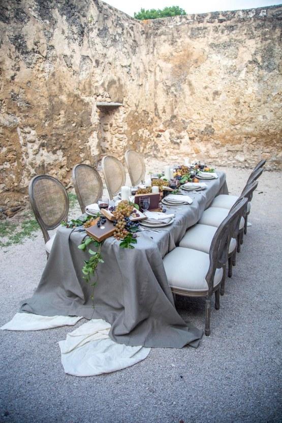 Spanish Lace and Old World Elegance Wedding Inspiration – Szu Designs 1