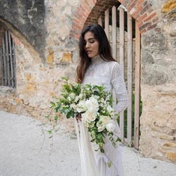 Spanish Lace and Old World Elegance Wedding Inspiration – Szu Designs 39
