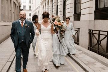 Swanky London Bank Wedding – Jessica Williams 2