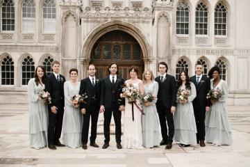 Swanky London Bank Wedding – Jessica Williams 4