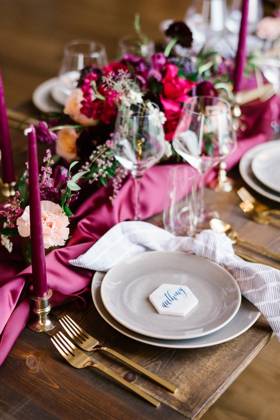 Whimsical Crimson and Green Holiday Wedding Inspiration – Stacy Able Photography 12