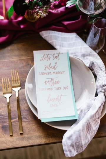 Whimsical Crimson and Green Holiday Wedding Inspiration – Stacy Able Photography 20