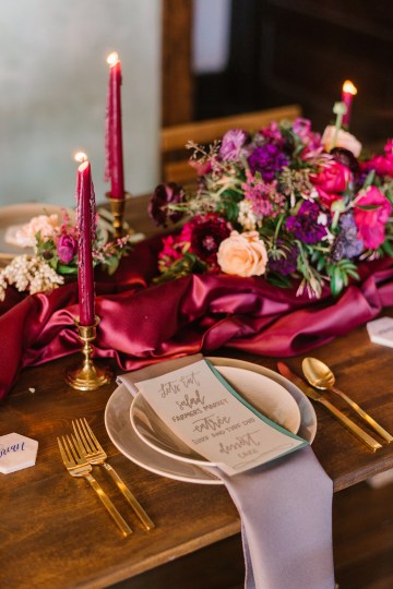 Whimsical Crimson and Green Holiday Wedding Inspiration – Stacy Able Photography 34