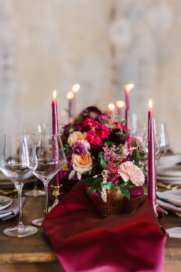 Whimsical Crimson and Green Holiday Wedding Inspiration – Stacy Able Photography 38