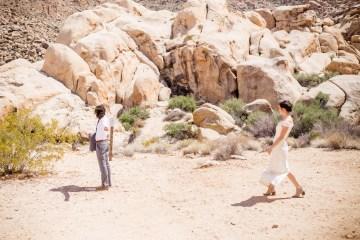 Amazing Vintage Joshua Tree Camping Wedding – Someplace Images 2