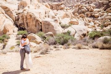 Amazing Vintage Joshua Tree Camping Wedding – Someplace Images 3