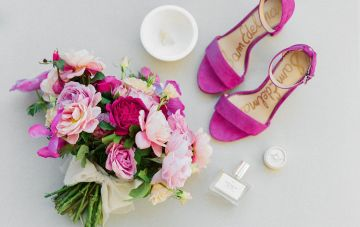Fuchsia Florals & Other Elegant Wedding Ideas From Charleston