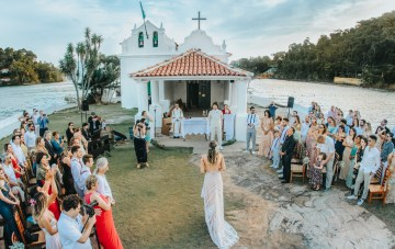 Epic Bohemian Wedding On A Tiny Brazilian Island