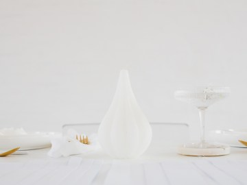 Funky & Creative All White Wedding Inspiration – The Vintage House That Could 12