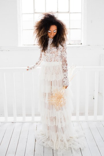 Funky & Creative All White Wedding Inspiration – The Vintage House That Could 29
