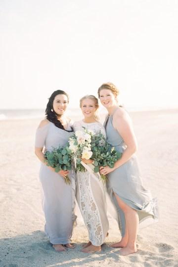Intimate Southern Boho Beach Wedding in Charleston – Ava Moore Photography 25