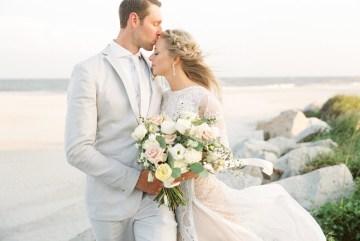 Intimate Southern Boho Beach Wedding in Charleston – Ava Moore Photography 4