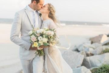 Intimate Southern Boho Beach Wedding in Charleston – Ava Moore Photography 7