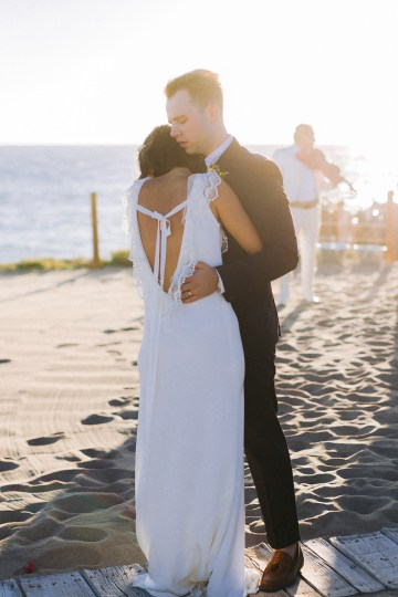Real Bride Diary – Wildly Fun and Intimate Baja Beach Wedding of Claire Eliza and Jack – Corinne Graves 64