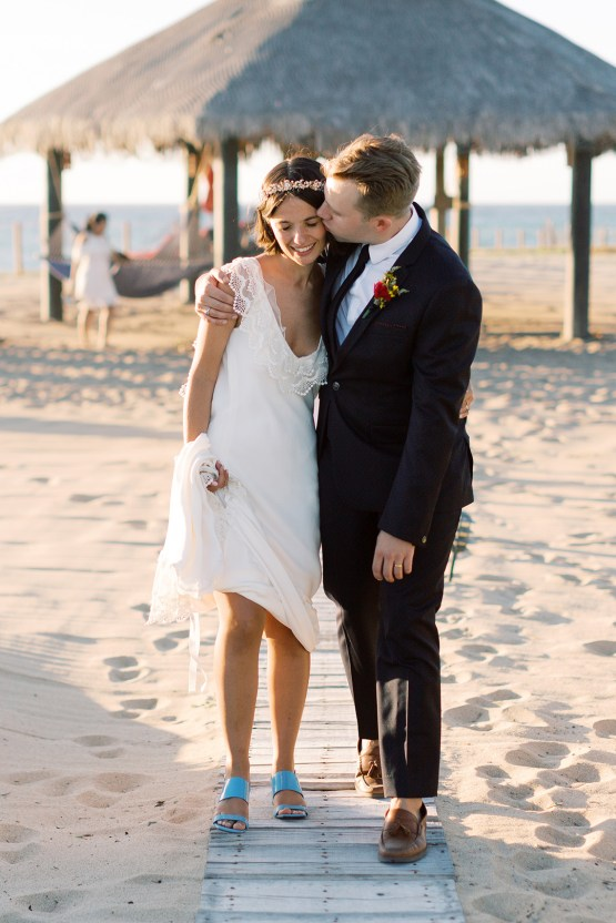 Real Bride Diary – Wildly Fun and Intimate Baja Beach Wedding of Claire Eliza and Jack – Corinne Graves 65