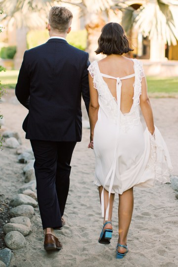 Real Bride Diary – Wildly Fun and Intimate Baja Beach Wedding of Claire Eliza and Jack – Corinne Graves 66