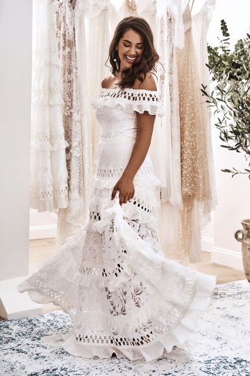 10 Reasons You Should Shop for Your Wedding Dress at The Grace Loves Lace NYC Boutique – Coco Gown 4