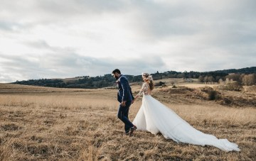 South African Winter Wedding With Princess Bride Vibes