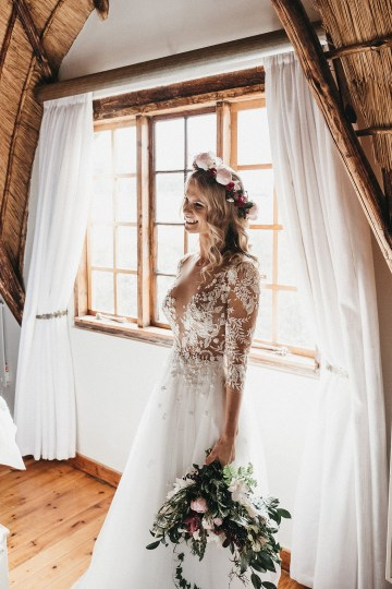Floral-Rich Boho South African Winter Wedding – Dean Maber 32