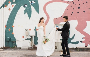 Dreamy Technicolor Elopement With Maggie Sottero Wedding Dresses