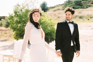 Luxurious Wedding Inspiration From An Ancient Greek Chapel – Nina Wernicke 1