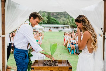 Playful and Intimate North Shore Oahu Beach Wedding – Chelsea Stratso Photography 2