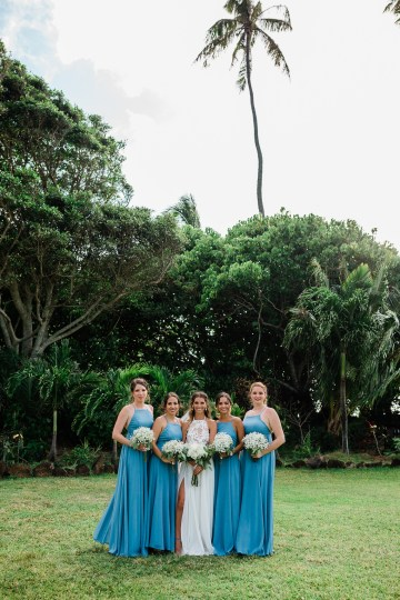 Playful and Intimate North Shore Oahu Beach Wedding – Chelsea Stratso Photography 21