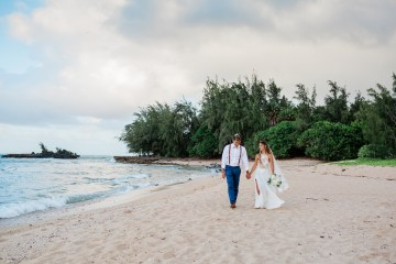 Playful and Intimate North Shore Oahu Beach Wedding – Chelsea Stratso Photography 6