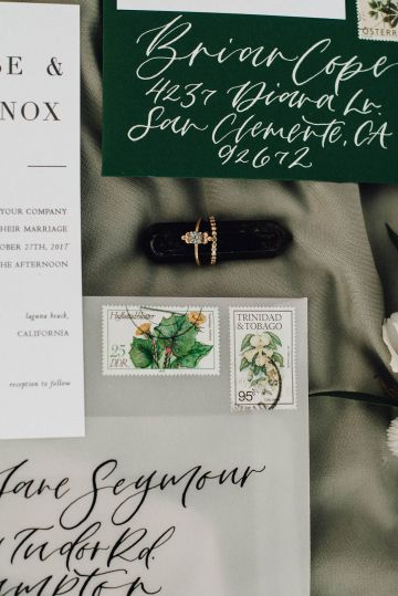 Romantic Same Sex Beach Elopement Inspiration in Earth Tones – Kalon Weddings Photography – Chloe Nicole Weddings 12