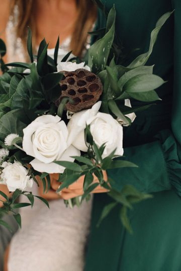 Romantic Same Sex Beach Elopement Inspiration in Earth Tones – Kalon Weddings Photography – Chloe Nicole Weddings 23