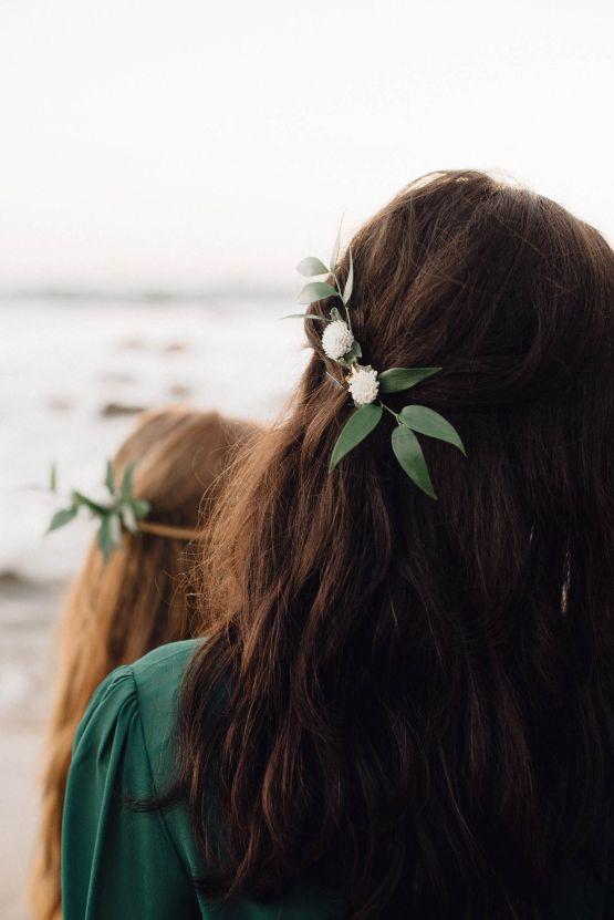 Romantic Same Sex Beach Elopement Inspiration in Earth Tones – Kalon Weddings Photography – Chloe Nicole Weddings 30