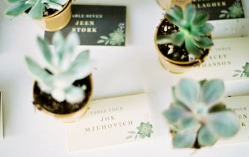 Rustic, Succulent-Filled, Colorado Wedding (With A Pretzel Bar!)