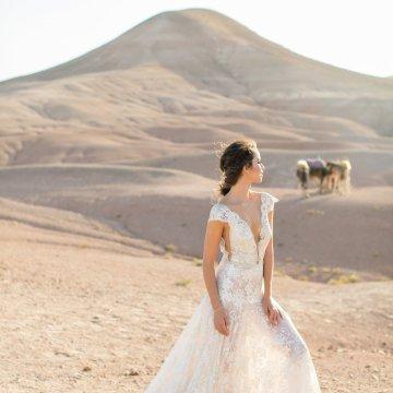 destination wedding in the desert in morocco