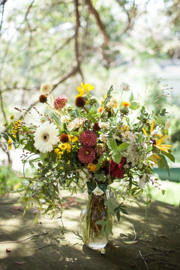 Wildflower Elopement In The Middle Of A Lake – White Poppy Weddings 15
