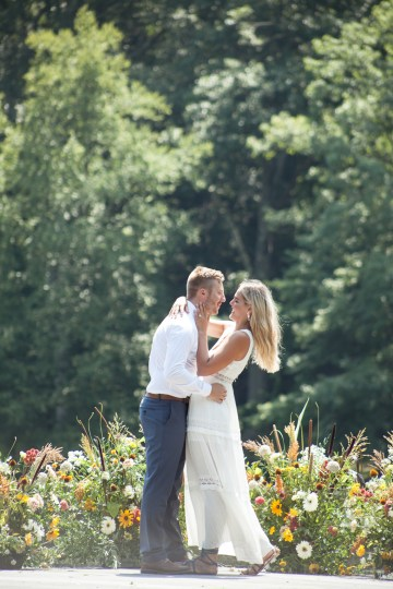 Wildflower Elopement In The Middle Of A Lake – White Poppy Weddings 20